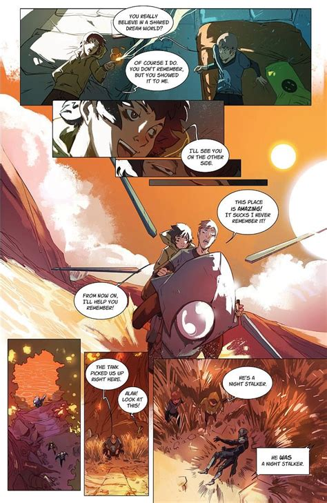 Preview of Poet Anderson: The Dream Walker #2