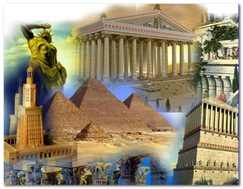 7 Wonders of the Ancient World   meets