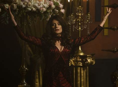 Michelle Gomez on Chilling Adventures of Sabrina Part 2