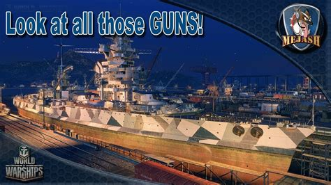 World of Warships: Lyon preview, So many guns!!! T7 French