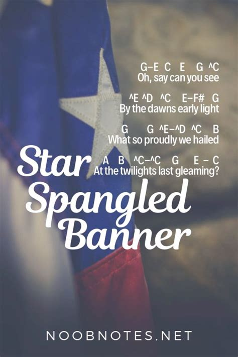 Star Spangled Banner - Traditional [video] | Easy piano