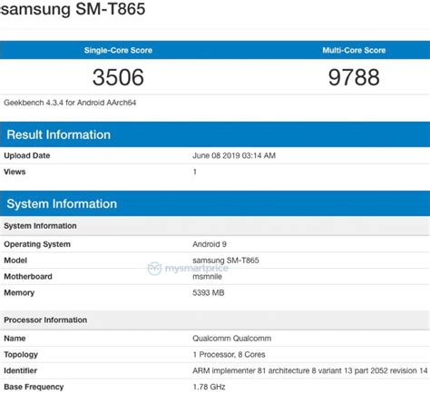 Samsung Galaxy Tab S5 tablet appears in benchmarks - Geeky