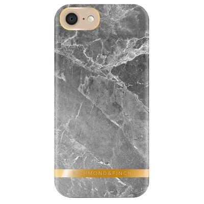 Richmond & Finch Marble cover til iPhone 7 - grå - Cover