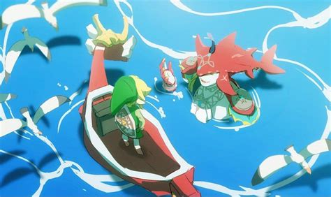 Sidon and WW Link | The Legend of Zelda: Breath of the