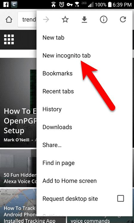 How to Use Private Browsing on Your Android Device