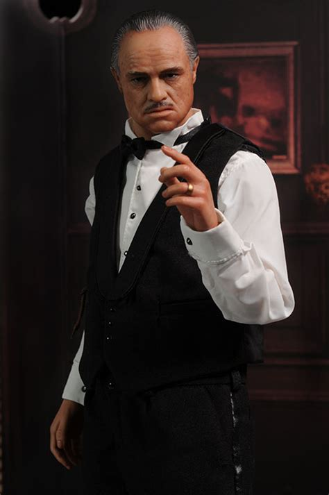 Review and photos of Hot Toys Godfather sixth scale action