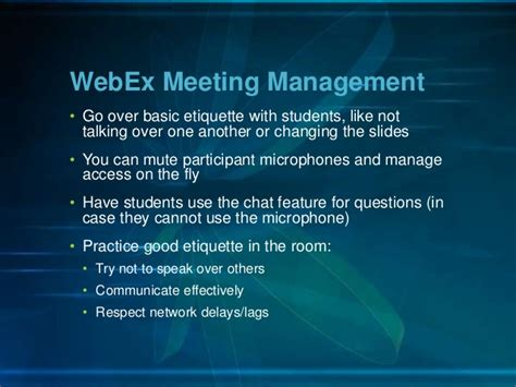 Video Express, Camtasia, and WebEx