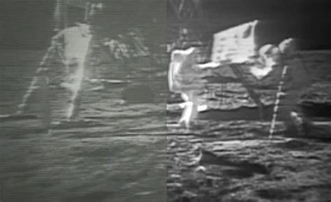 Restored Apollo 11 Moonwalk Video Looks Good–Could Be