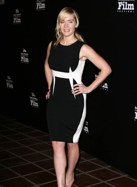 Best Celebrity Legs: Kate Winslet in a Pretty Dress and