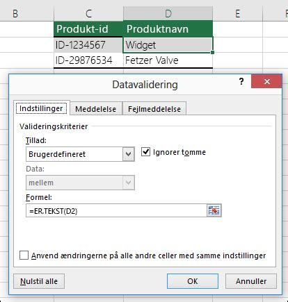Apply data validation to cells - Office Support