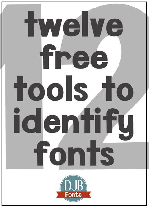 12 Free Tools for Font ID - Darcy Baldwin Fonts
