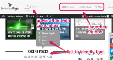 5 Font Detector Chrome Plugins to Check Fonts on Webpages