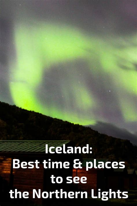 Best time to visit Iceland in 2019 - Northern lights