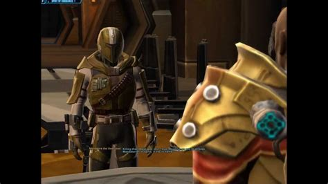 SWTOR - Bounty Hunter Chapter 1 Finale (Part 2