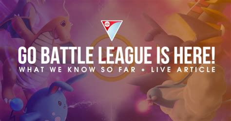 Go Battle League is Here! - The Silph Road