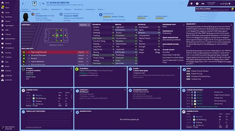 Football Manager 2019: Man City Team Guide, Player Ratings