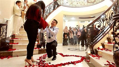 SURPRISE MARRIAGE PROPOSAL! Our 5 Year Love Story ♥ - YouTube