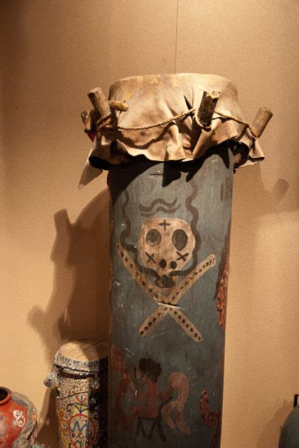 Fascinating & spooky collection of Haitan Voodoo art objects